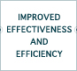Improved Effectiveness and Efficiency